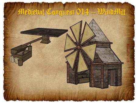 Medieval Conquest 014 – WindMill (lassoares-rct3)