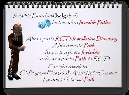 Invisible Doodads Instalando Paths (belgabor) lassoares-rct3