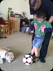 4-12-2011 physical therapy - playing soccer (1)