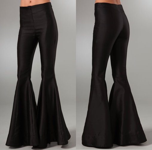ELLERY Bloodstone black silk