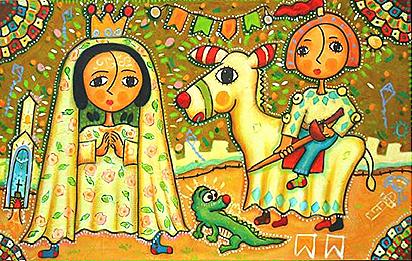 Nossa Senhora Aparecia e São Jose