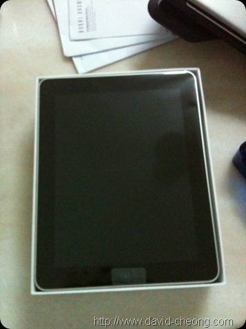 unbox my ipad