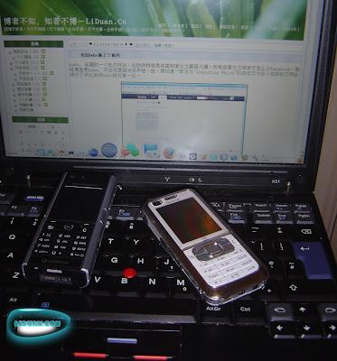 中档的nokia 6120 3G手机