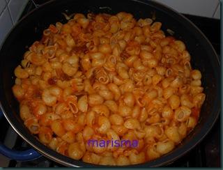 caracolas con tomate y bechamel-4