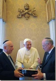 BXVI y judíos