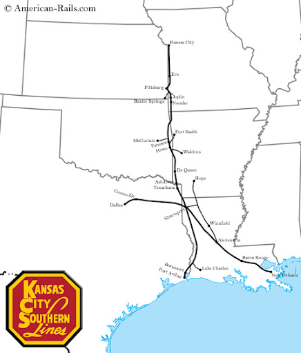 Kcs Railroad Rail Map Pictures To Pin On Pinterest  PinsDaddy
