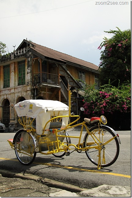 Penang Trishaw New Look by VisitPenang & DIGI