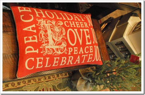 Holiday Pillow Collection Peace