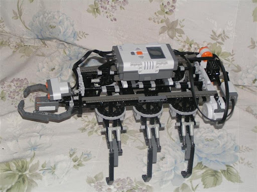 NXT Hexapod Ant Top