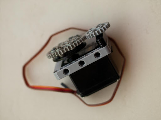 Technics Mount For Rc Type Servo Motors