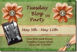 Tuesday Blog Party Blog Post Header