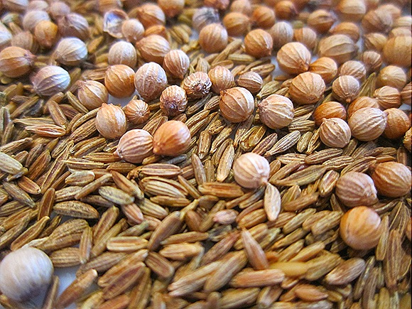 Toasted Cumin & Coriander Seeds