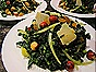 Kale, Hazelnuts, Parmesan, Raisin & Vidalia Salad