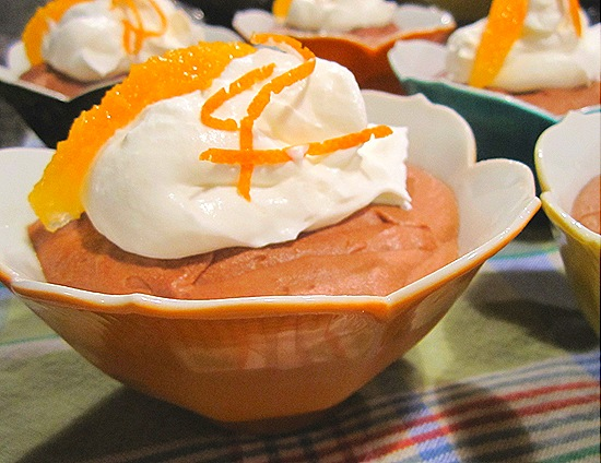 Orange-Chocolate Mousse