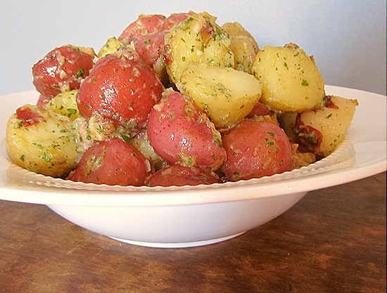 Potato Salad with Rosemary & Bacon