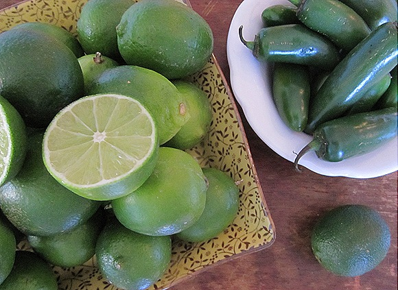Limes & Jalepenos
