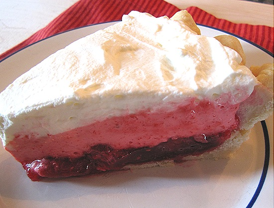 Triple Layer Raspberry Pie