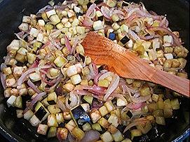 Onions, Eggplant