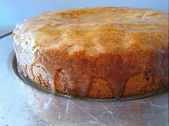 Pear-Walnut Cake