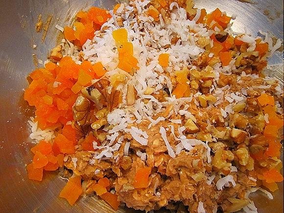 Apricots, Coconut & Walnuts