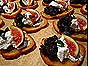 Crostini with Fig Compote & Goat Cheese