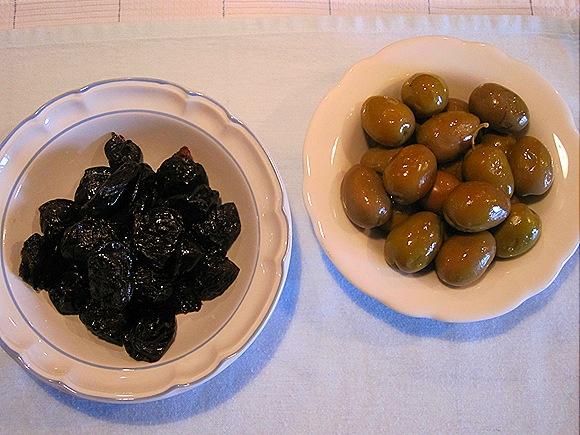 Prunes & Olives