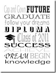 Graduation Subway White