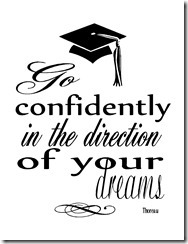 The Answer Is Chocolate: Graduation Printables