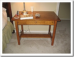 Master end table