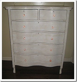 After cream dresser