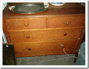 before aqua dresser
