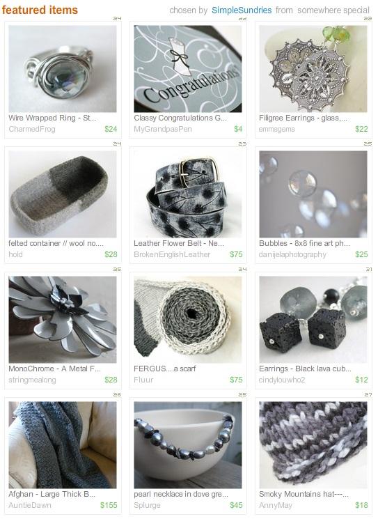 Etsy Picks: Gorgeous Grays