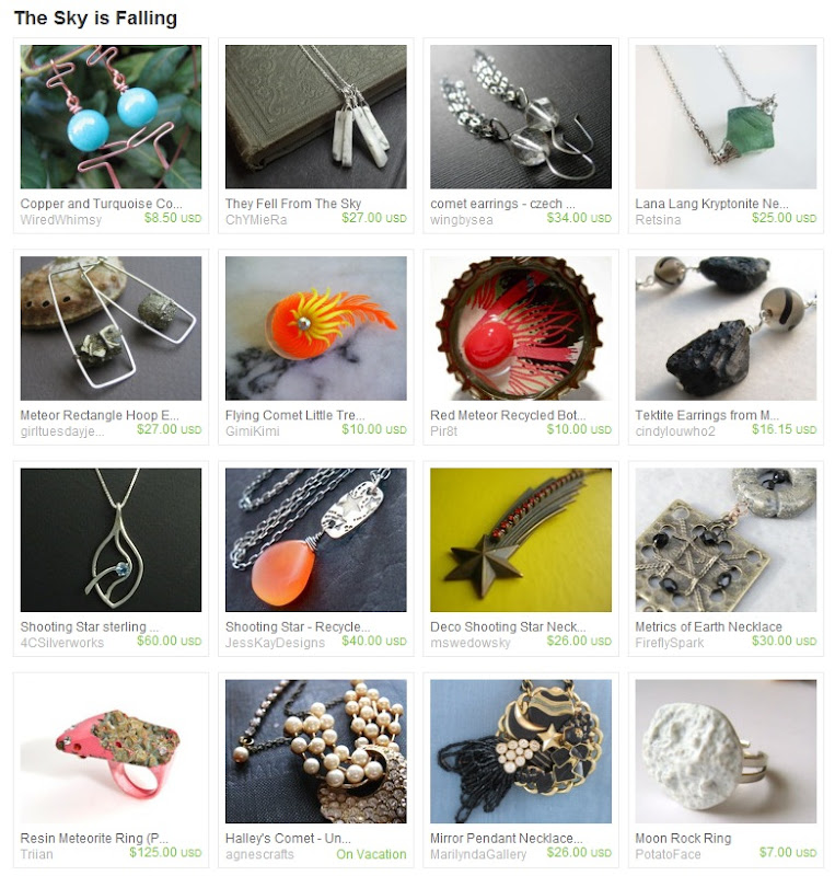 Etsy Picks: Comet and Meteor Jewelry