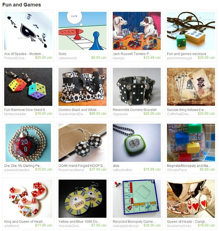 Etsy Picks: Fun and Games