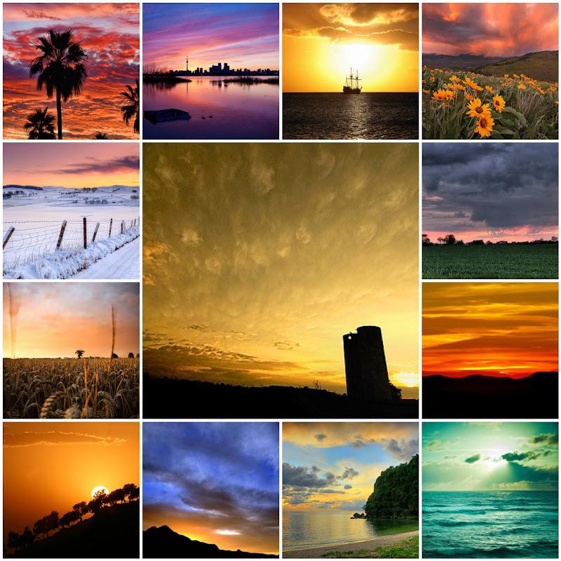 Sunset Mosaic