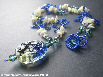 Summer Storm Necklace by The Sage's Cupboard