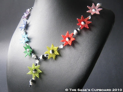 Celebration Rainbow Necklace by The Sage's Cupboard