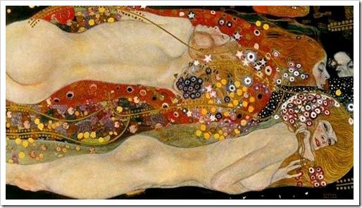 Bisce d`acqua II Klimt
