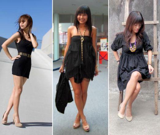 Sapato nude e combinações com o preto