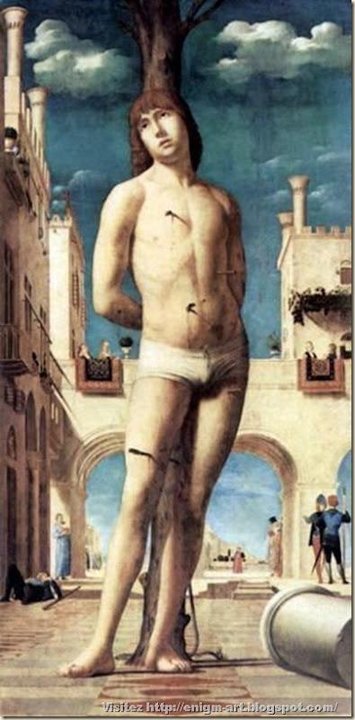 Antonello Da Messina, Saint Sébastien, 1470 Dresde