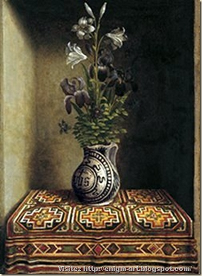 Hans Memling, nature morte, 1485-1494