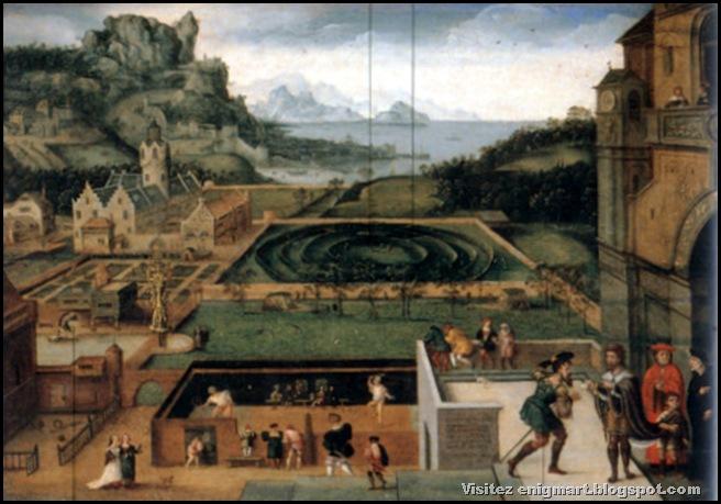Histoire de David et Bethsabée, école Flamande, XVIème siècle, Londres