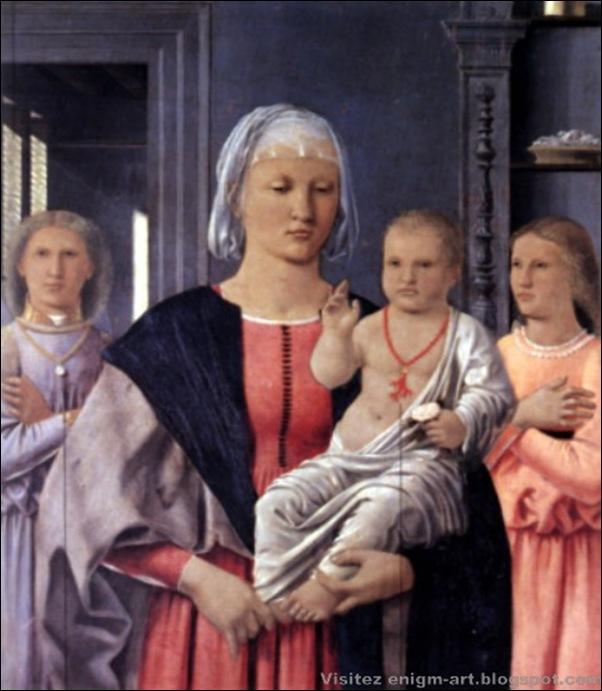 Pierro della Francesca, Madonne de Senigallia, 1474
