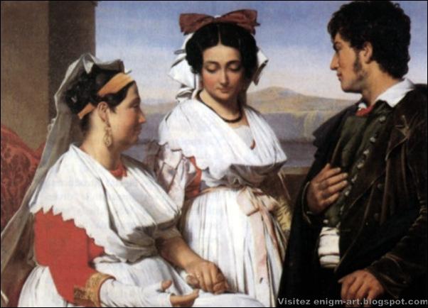 Albano di Guillaume Bodinier, Demande en mariage, 1815 à 1850