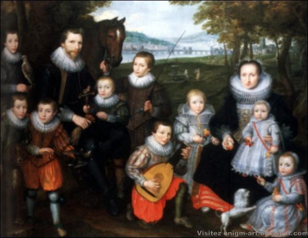 Cornelis de Vos, Portrait de Famille, 1630