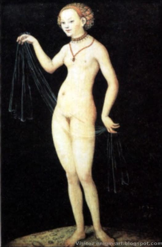 Lucas Cranach le Vieux, Vénus, 1532