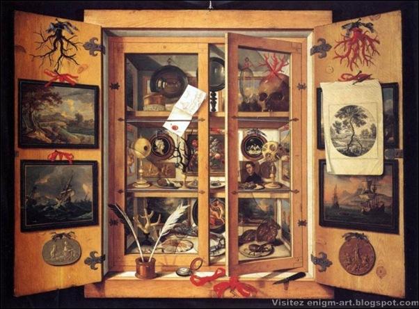 Domenico Remps, Cabinet de curiosités , 1675