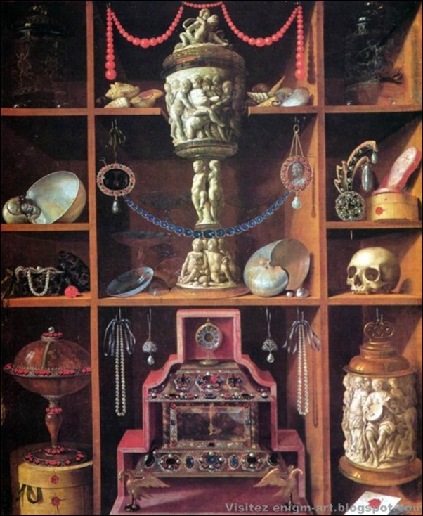 Georg Haintz, Cabinet de curiosité