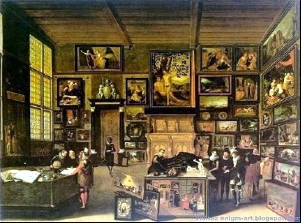 Hieronymus Francken, Cabinet d'amateur de Jan Snellink