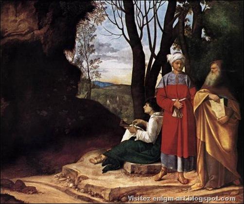 Giorgione, Les trois philosophes